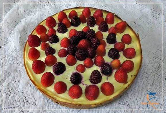 Cheesecake Ligth de Frutas Vermelhas