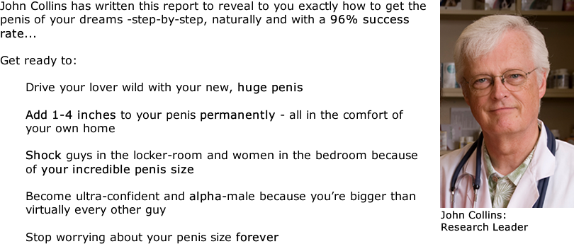 Is it possible to enlarge penis size