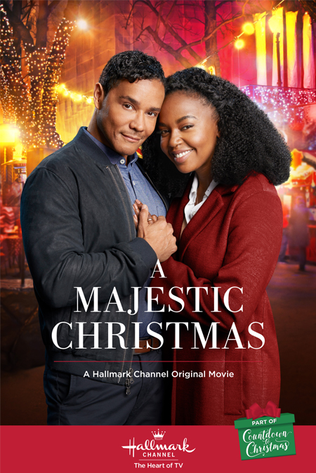a majestic christmas a hallmark channel countdown to christmas movie starring jerrika hinton christian vincent hallmarkchannel countdowntochristmas - Finding John Christmas Cast