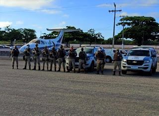 46ª CIPM participa da missão de recebimento e escolta da vacina contra covid-19