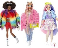 Куклы Barbie Fashionistas X.T.R.A. OMG: новые Барби фашионистас в стиле Лол Сюрприз