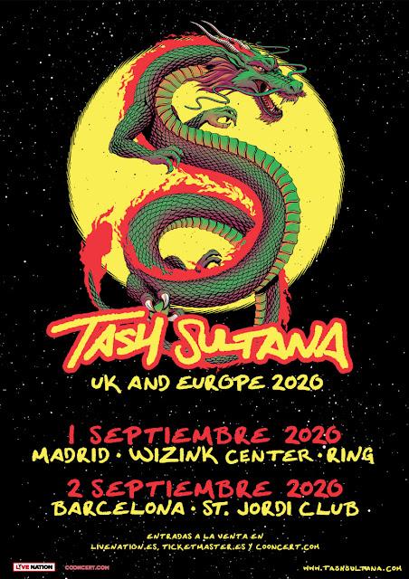 Agenda de giras, conciertos y festivales - Página 17 Tashsultana