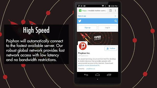 Psiphon Pro مهكر | تحميل برنامج Psiphon Pro V327 سايفون برو مهكر للأندرويد