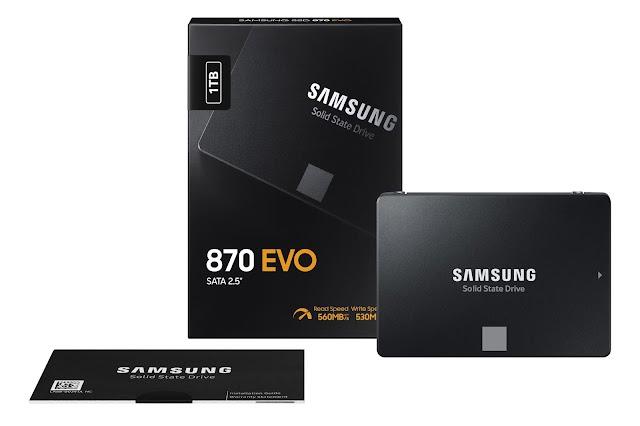 Samsung, dünyanın en çok satan SATA SSD serisinin son üyesi 870 EVO'yu tanıttı