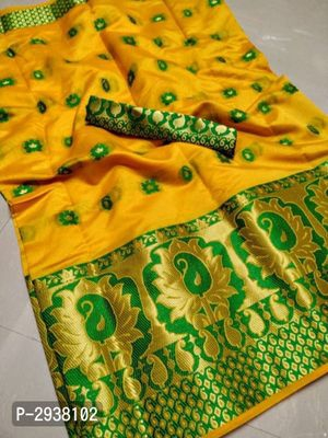 Banarasi Woven Design Cotton Silk Sarees