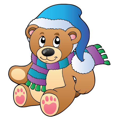 Winter's Teddy Bear Icon