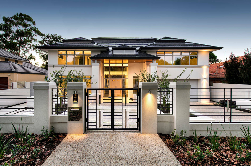 50 Beautiful Modern Gates And Fences For Small And Big Houses