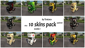 TiroLoco's 10 skins pack updated