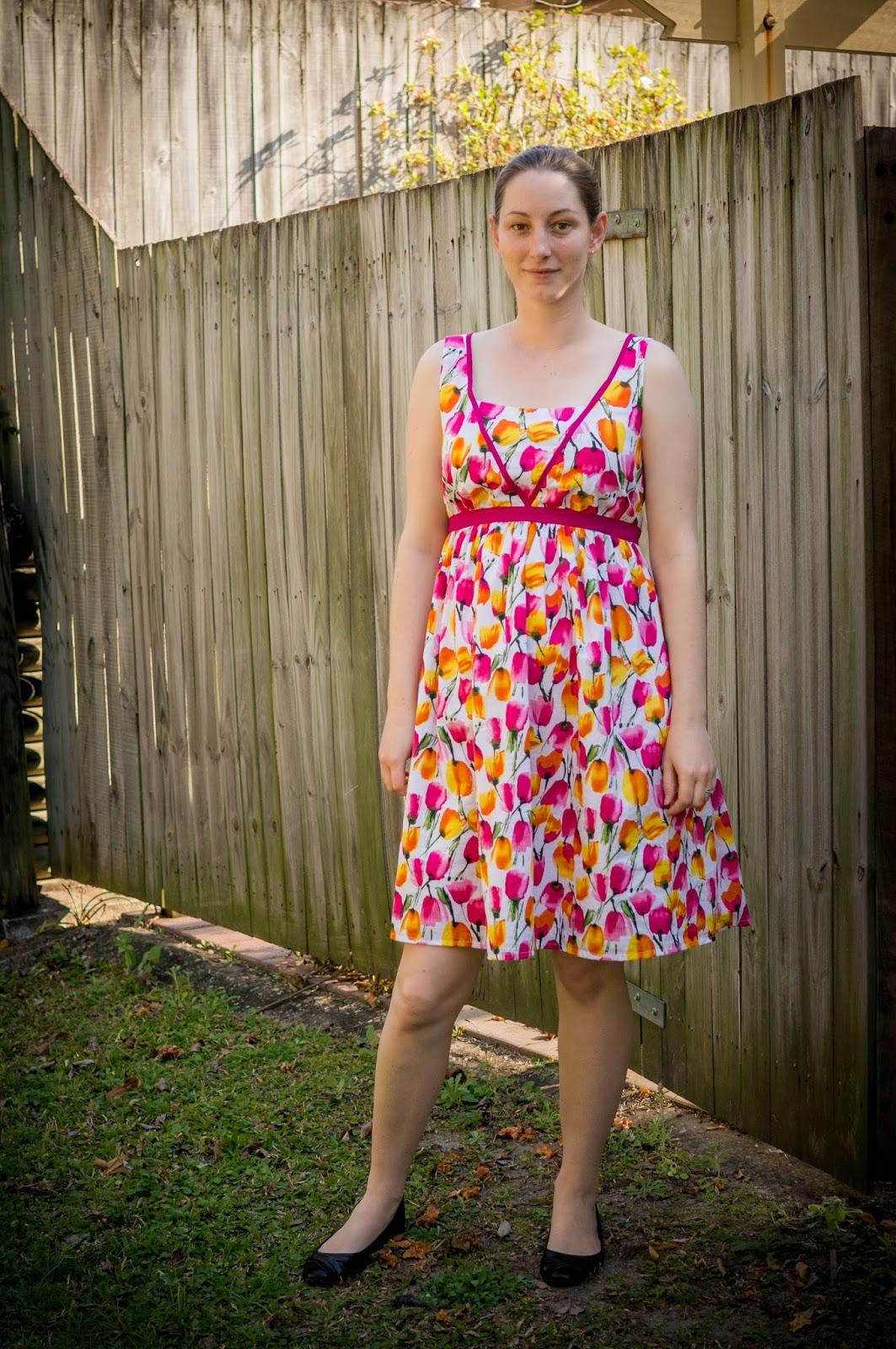 Twenty First Century Lady Summer Maternity Dress Design