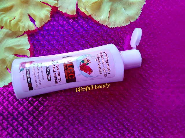 VLCC Active Fruits Damage Repair Body Lotion Review