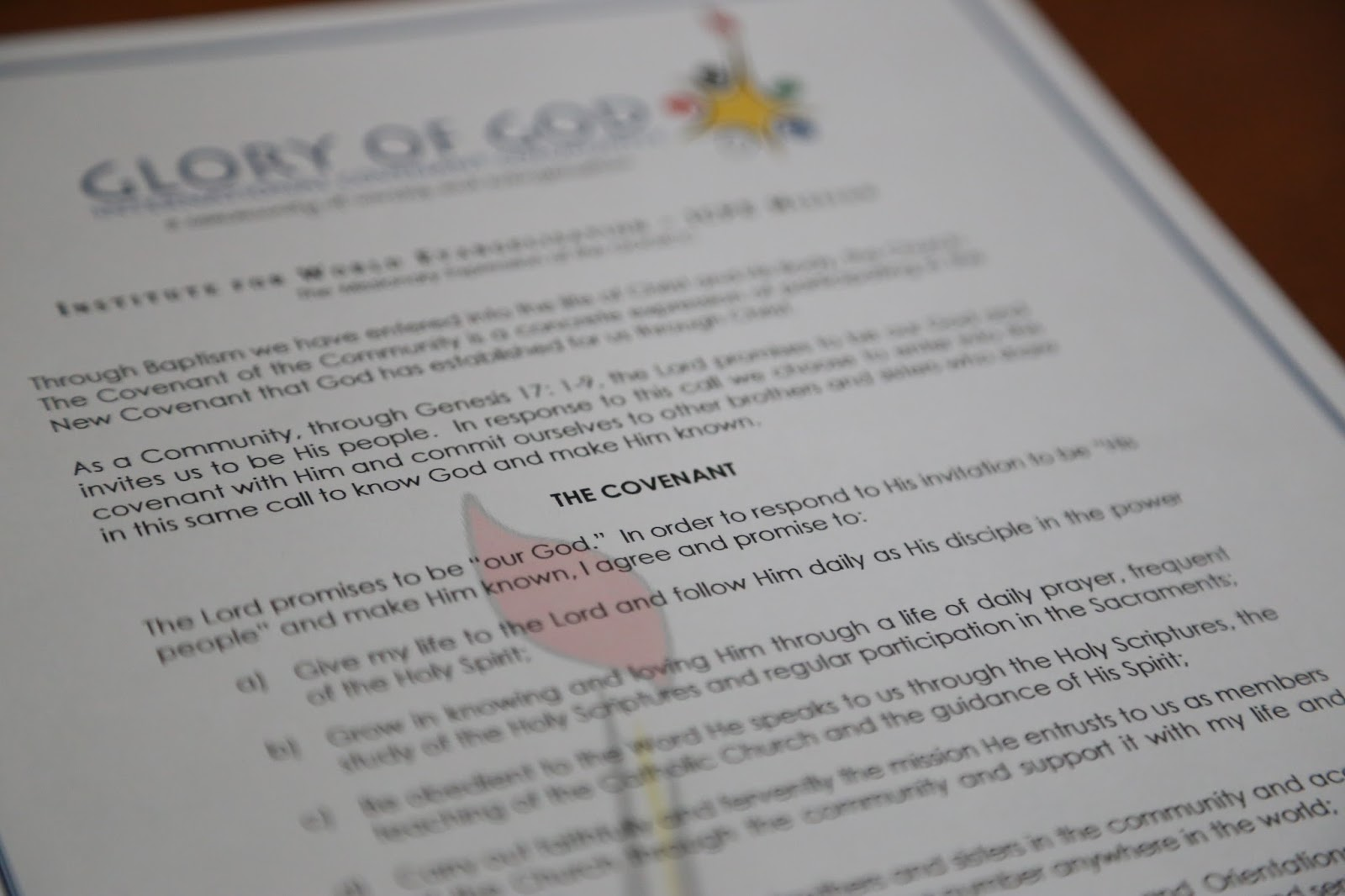 ICPE New Zealand: Covenant Celebration at ICPE Mission NZ