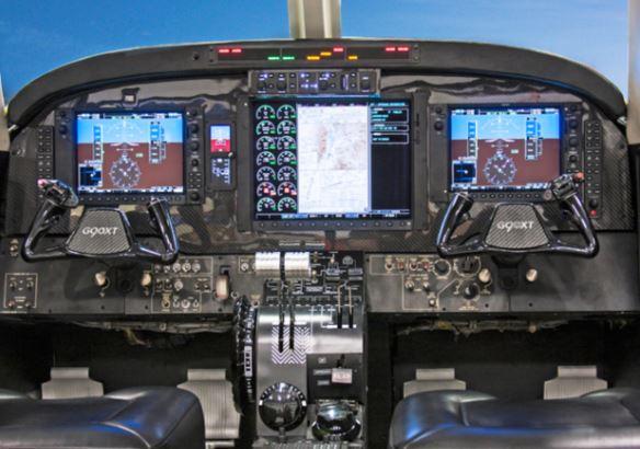 Nextant G90XT cockpit