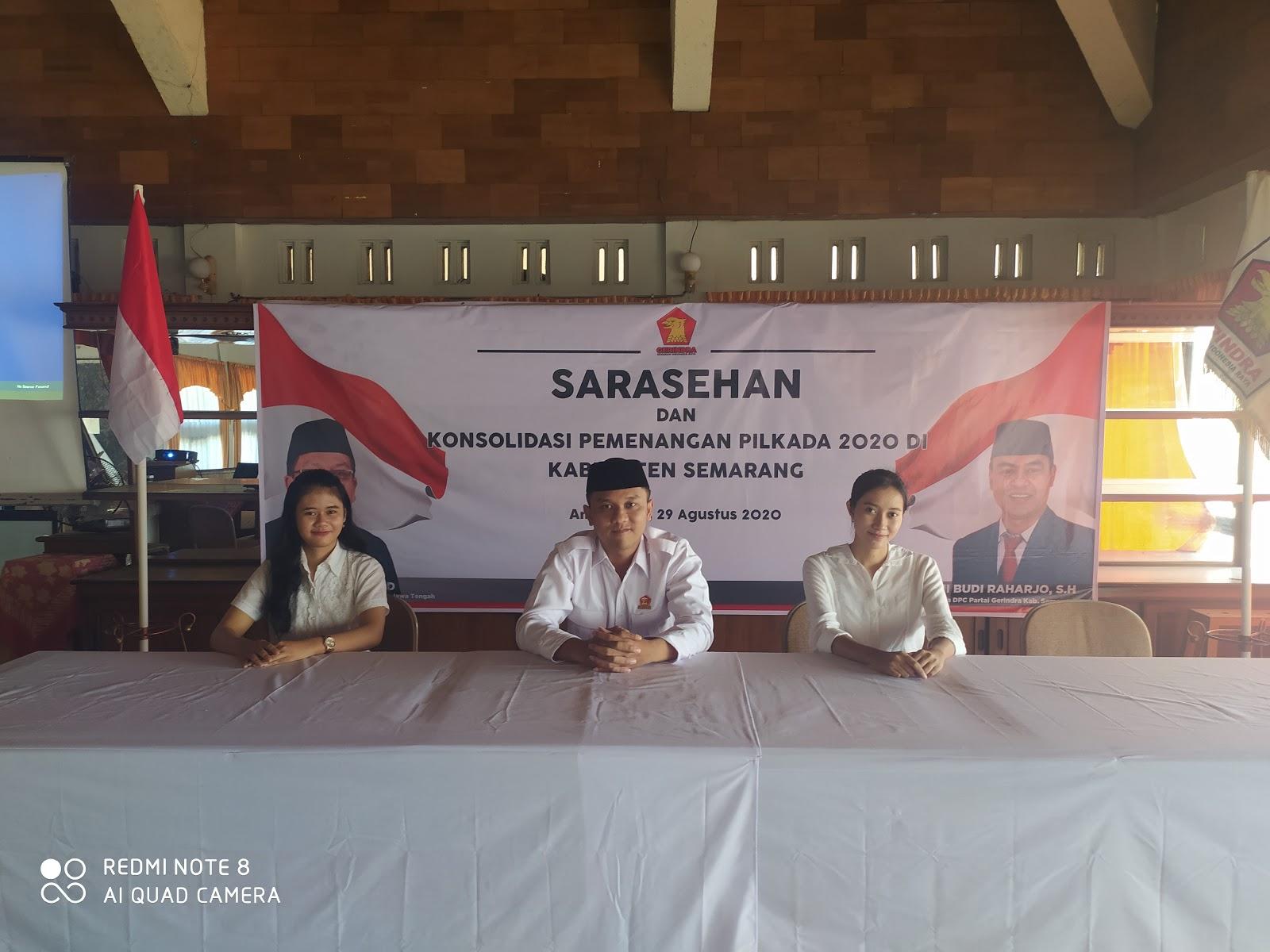 Ninda Anjelia Winanti Kartika Meyla Sari  Perempuan Indonesia Raya (PIRA) - Partai Gerindra Ambarawa