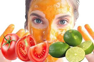 Tomato and Lemon Face Mask