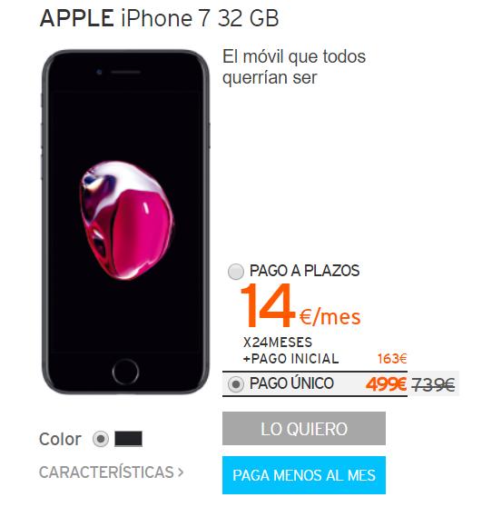 caf0e6b1d17 La promoción estará disponible hasta el próximo 29 de noviembre o hasta fin  de existencia. En algunos casos como sucede con el iPhone 7 32 GB el ahorro  ...