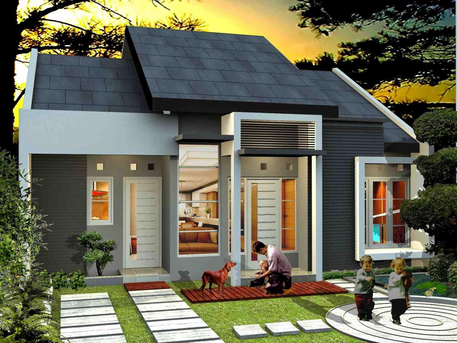 Desain Rumah Minimalis Sederhana Unik
