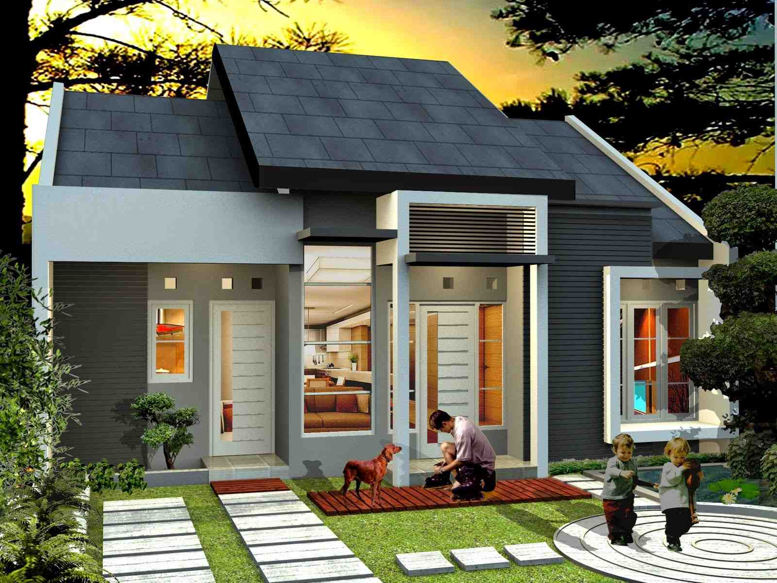 Rumah Minimalis 2 Lantai 100 Jutaan Dshdesign4K Gambar Foto