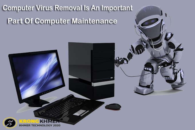 Computer Virus Removal Is An Important Part Of Computer Maintenance