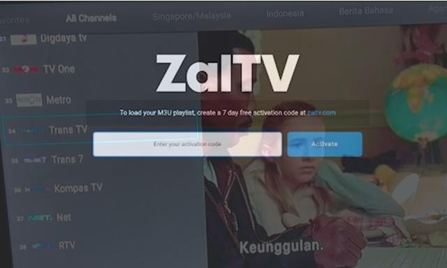 adalah salah satu aplikasi yang bisa kalian gunakan di smartphone ataupun Android TV untuk Kode Aktivasi ZalTv Terbaru 2021