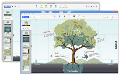 Software Presentasi : Prezi Desktop v 5.2.8