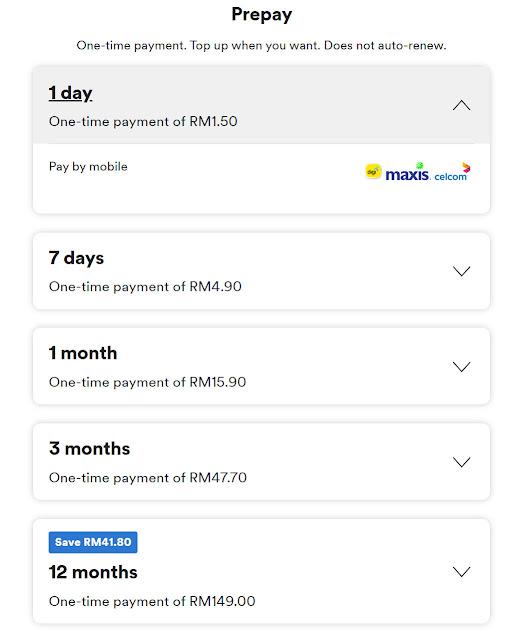 Langgan Spotify Premium Dengan Harga Serendah RM1.50 Sehari