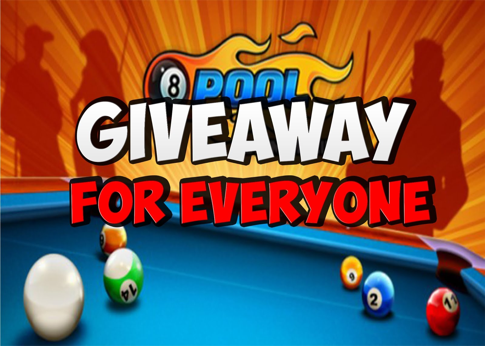 8 BALL POOL GIVEAWAY UNIQUE ID : - HACKSTER'S BLOG -