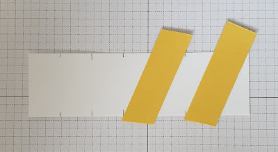Twisted ribbon border technique Stampin up