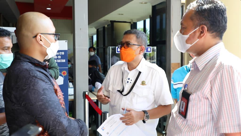Kepala Otban Tinjau Kesiapan Bandar Udara Internasional Hang Nadim Batam Menerapkan Tes GeNose