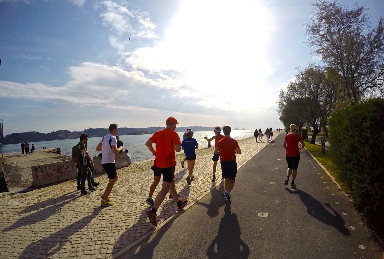 Lisbon Tajo Running