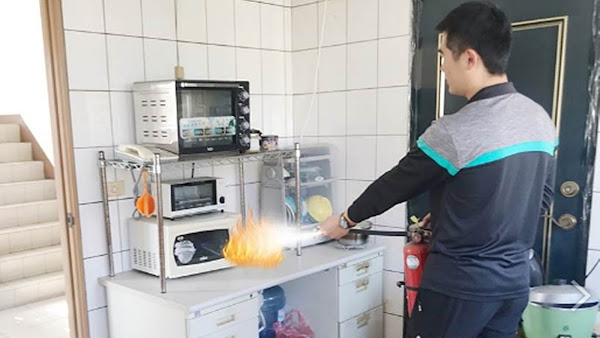 火災初期錯誤滅火傷人又害己 彰化消防局籲建立正確觀念