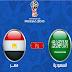 مباراة مصر والسعودية في كأس العالم والقنوات الناقلة