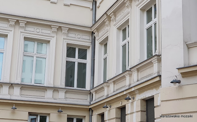 Warszawa Warsaw kamienica Pod Gryfami Fuchs renesans włoski architecture architektura warszawskie kamienice