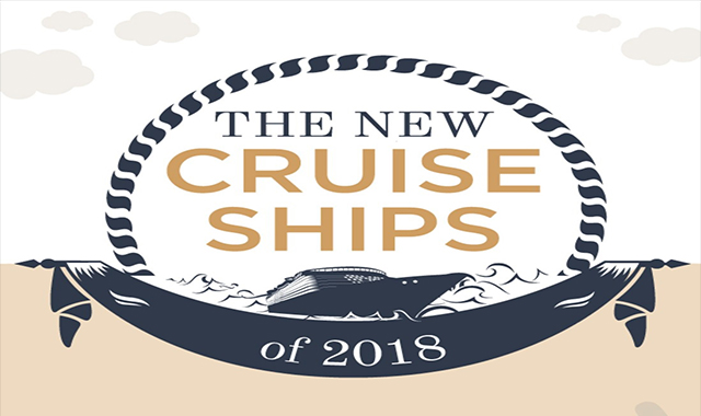 The new 2018 cruise ships #infographic