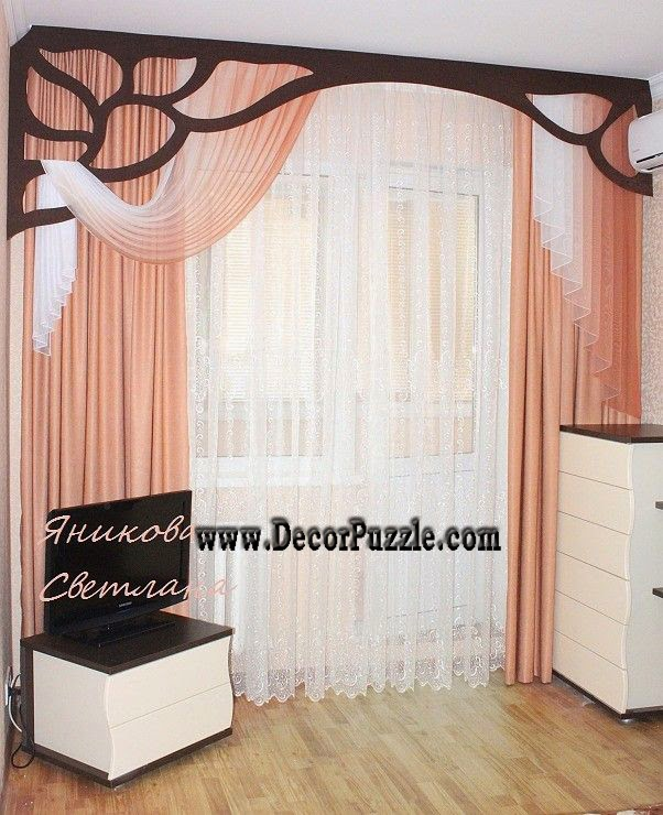 Japanese curtains 2017, modern curtain styles designs and colors