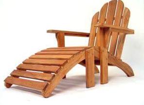kursi santai unik dari kayu jati