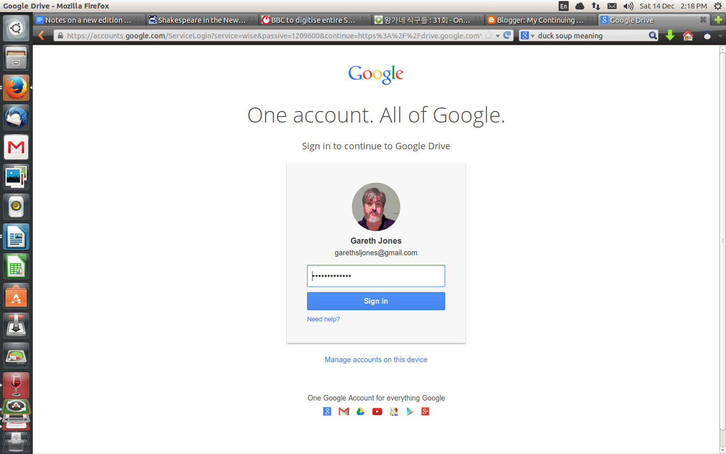 My Continuing Education Sign Into Google Docs Google Drive As A
