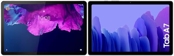 Lenovo Tab P11 vs Samsung Galaxy Tab A7 10.4 (2020) 64 GB