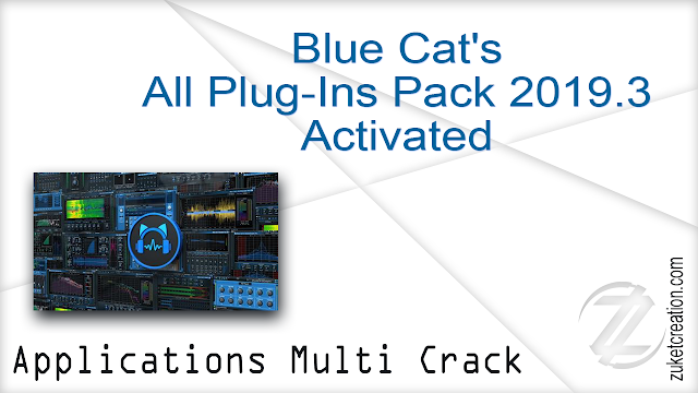 Blue Cat's All Plug-Ins Pack 2019.3 Activated