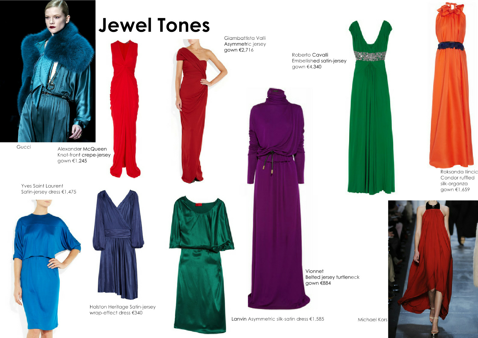 The stylist den fw 2011 12 trends jewel colours zara h m - What are jewel tones ...
