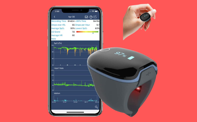 Best Wellue O2Ring Sleep Monitor Health Tracker Review 2021
