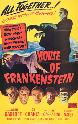 Poster - House of Frankenstein (1944)