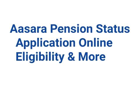Aasara Pension Status