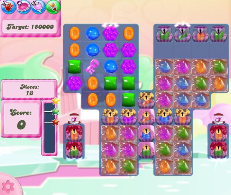 Candy Crush Saga level 2803