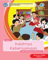 Buku tema 1 Guru Kelas 4 k13 2017