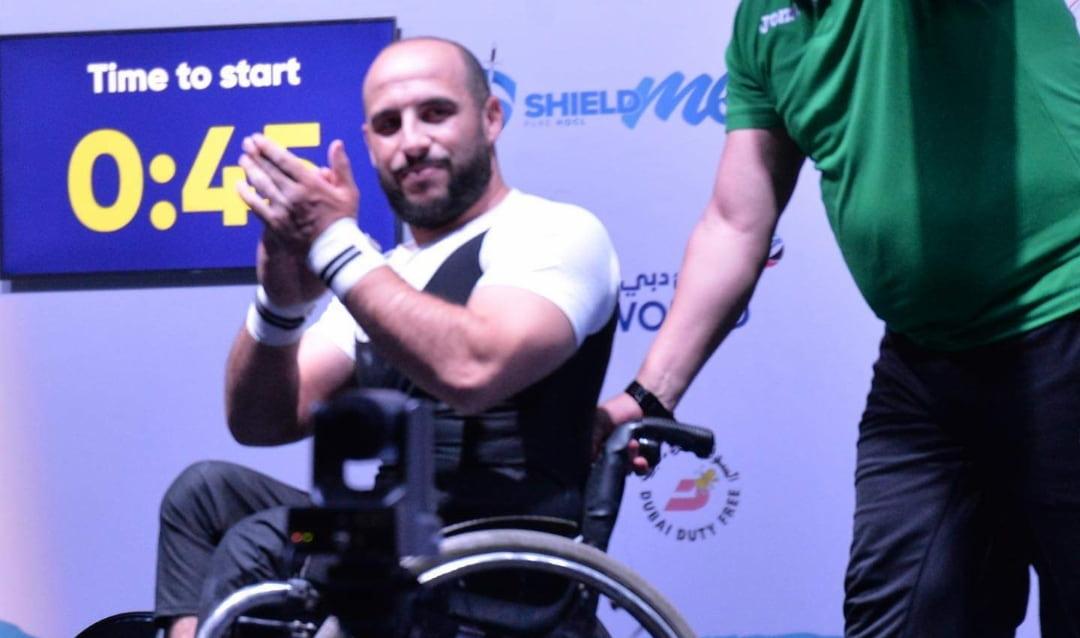 كأس العالم لحمل بالقوة : ميدالية ذهبية لحسين بتير