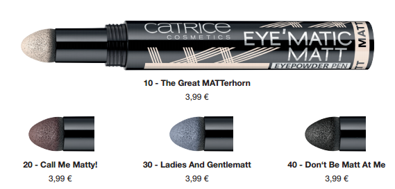 Catrice Eye'Matic Matt Eyepowder Pen
