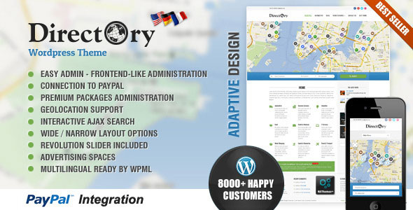 Directory Portal v4.3 - Themeforest WordPress Theme