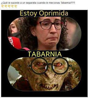 Tabarnia, oprimida, Marta Rovira