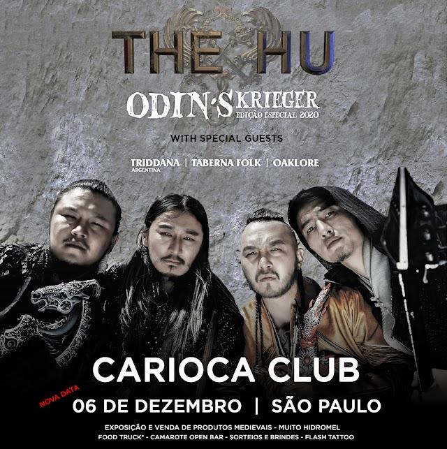 The Hu remarca apresentações no Brasil para Dezembro