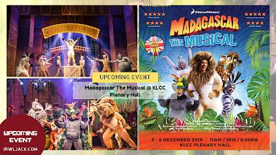 [Upcoming Event] Madagascar The Musical @ KLCC Plenary Hall